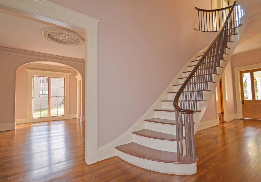 stairway in the John B. Gough house