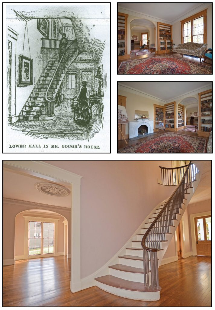 Gough House interior images