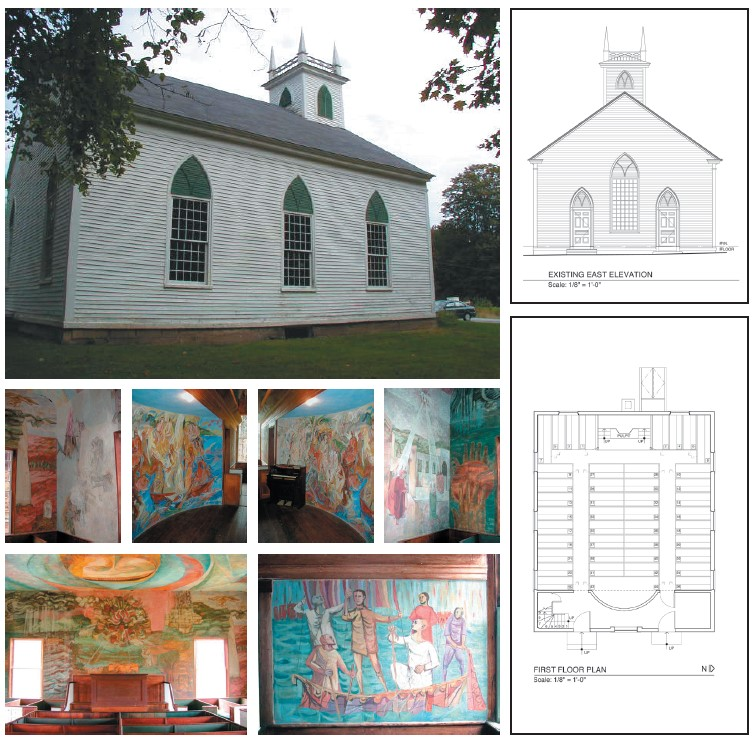 """Featured image for """"South Solon Meeting House"""""""