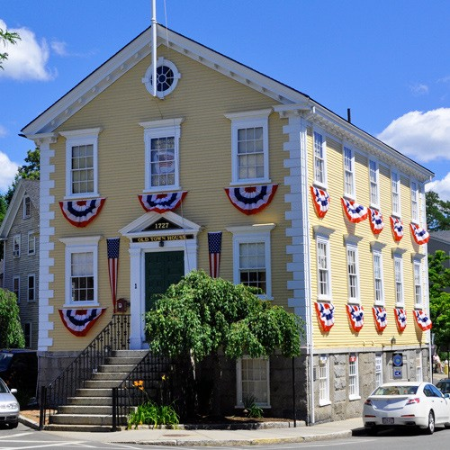 """Featured image for """"Marblehead Old Town House"""""""