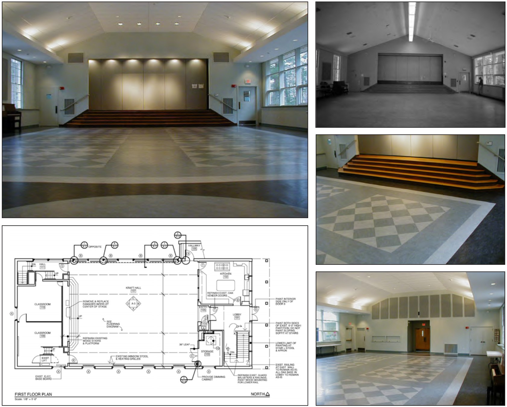 """Featured image for """"The Dover Church  –  Kraft Hall Renovations"""""""